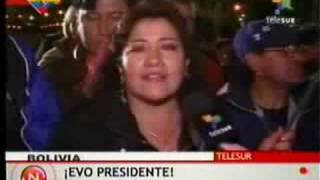 Evo Morales wins referendum in Bolivia