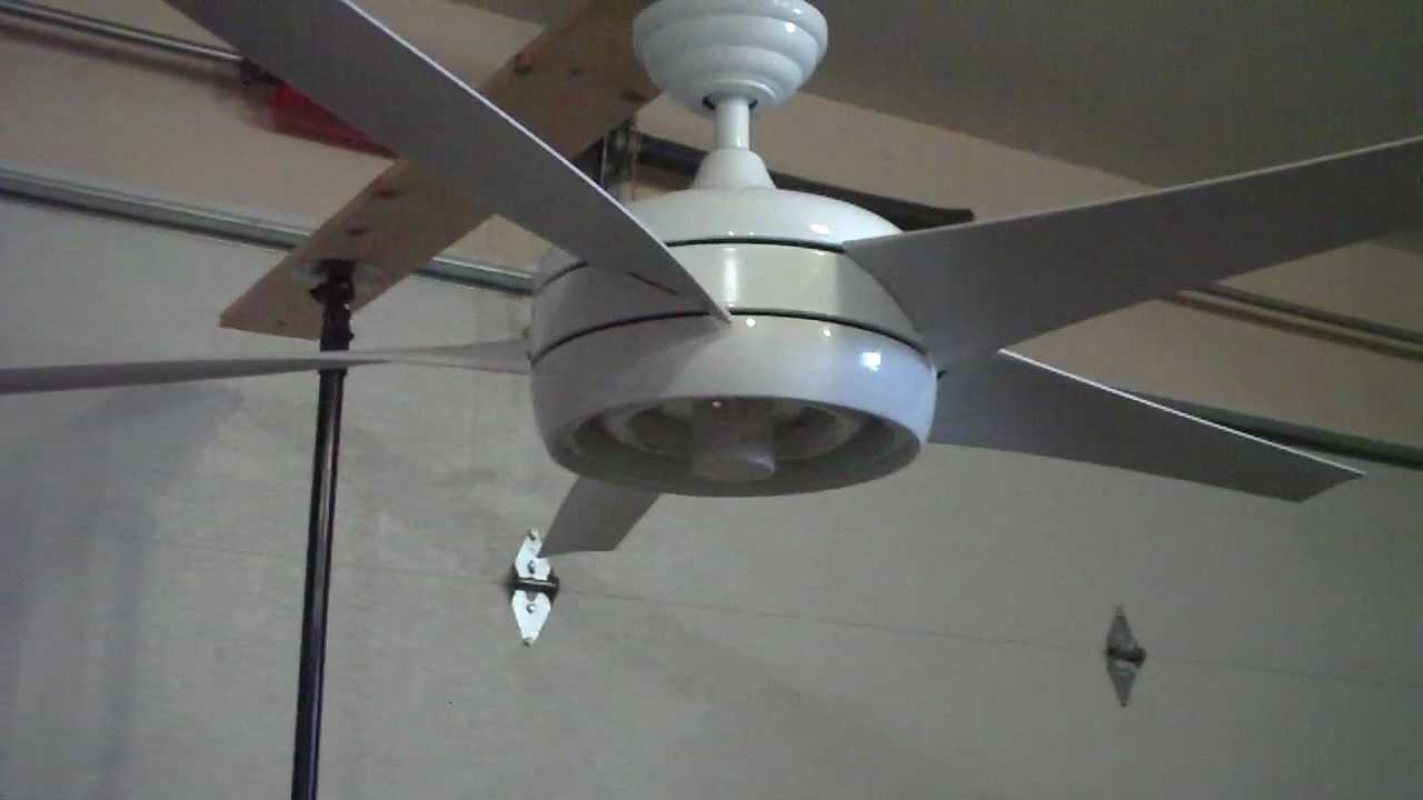 54 Quot Hampton Bay Windward Ii Ceiling Fan Youtube