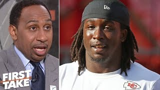 Kareem Hunt's actions 'indefensible'- Stephen A. | First Take