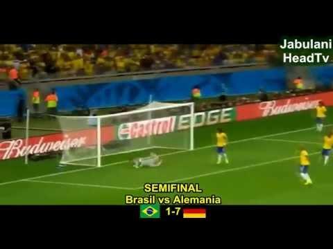 Todos Los Goles del Mundial 2014 HD