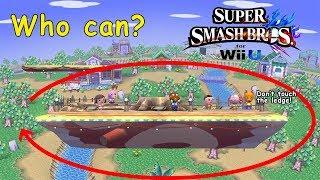 Who Can Make It Around Smashville? - Super Smash Bros. for Wii U