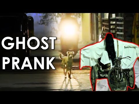 Epic Scary GHOST Prank Gone Wrong in Hyderabad | Ghost Prank in India 2018 | FunPataka