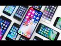 iPhone X vs Every iPhone Design! - 10 Years of iPhone MP3