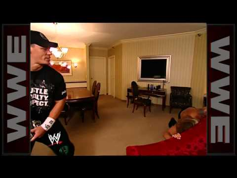 John Cena Attacks Edge And Surprises Lita (in A Hotel Room) video