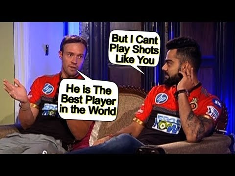 Bromance At Its Best | Virat and AB De Villiers Discuss Their Batting Style | Sports Tak