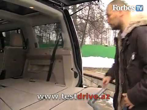 Land Rover Discovery 4  Видео тест драйв Forbes