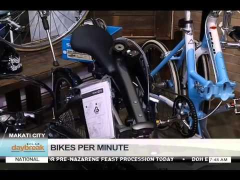 Bikes Per Minute DAYBREAK BIKES PER MINUTE