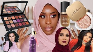 Full Face of Muslim Owned/Halal Beauty Products Tutorial! | Jackie Aina