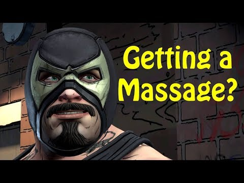 Bane and Bruce at The Spa - Every Single Choice - Batman The Enemy Within Epsiode 3