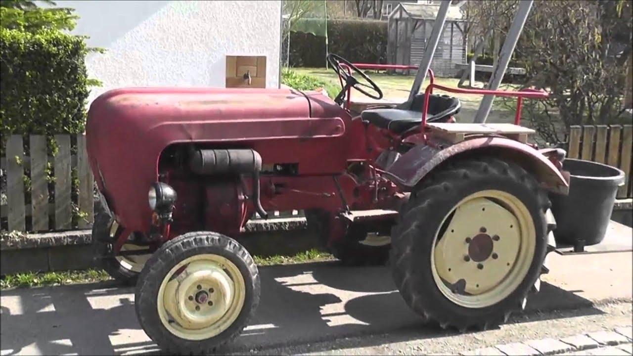 porsche diesel traktor junior 108 youtube. Black Bedroom Furniture Sets. Home Design Ideas