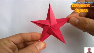 STAR ORIGAMI- Five Pointed Star