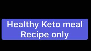 Healthy Keto meal.....Recipe only! Salt & Vinegar Nuggets