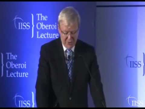 IISS Oberoi Lecture: The political, Economic and Foreign Policy Priorities of China's New Leadership