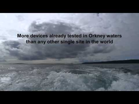 Marine Energy - Orkney Companies Leading the Way