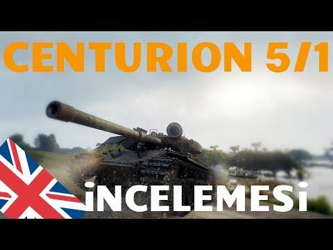 WoT || Centurion Mk 5/1 RAAC İncelemesi