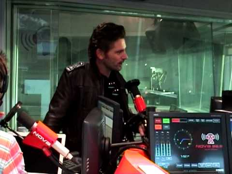 Eric Bana on the Merrick & Rosso & Kate Ritchie show