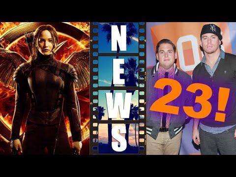 Mockingjay Part 1 Katniss Poster & Trailer Preview! 23 Jump Street! - Beyond The Trailer