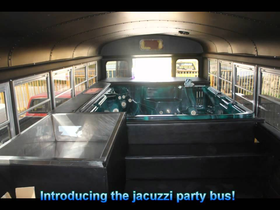 Limos With Hot Tub Wichita Ks Party Bus With Hot Tub