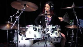 Night Witches - Sabaton - HD Drum Cover By Devikah
