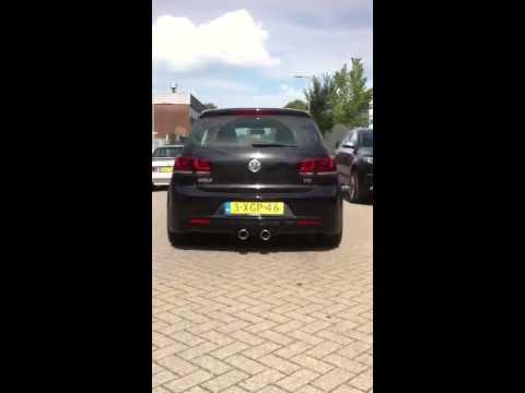 Volkswagen Golf RVS Sportuitlaat R20/R32/GTI/GTD