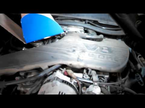 Alternator replacement Ford Thunderbird 1995 - 1997 4.6L V8 Mercury Lincoln Install Remove Replace