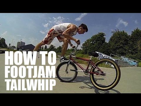 How to footjam tailwhip (Как сделать Футджем Тейлвип на BMX, MTB) | Школа BMX Online #5