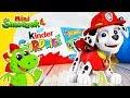 Psi Patrol Marshall Jajka Kinder Niespodzianki Auta Hot Wheels Chase Zabawki Filmik Dla Dzieci mp3