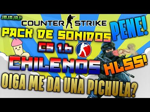 Pack de Sonidos CS 1.6 Chilenos HLSS (Pene, Puro Pene, Me da una pichula, etc)