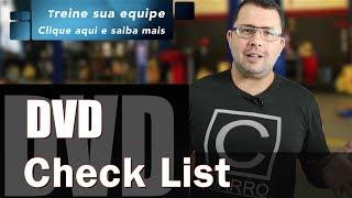 DVD Check List - Atender bem e fazer amigos - by Doutor Carro