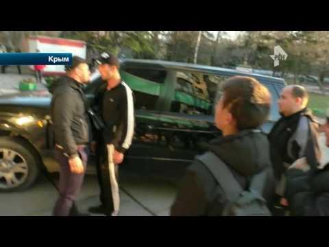 На активистов движения СтопХам набросились в Симферополе
