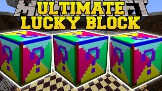 Minecraft: ULTIMATE LUCKY BLOCK MOD (MOST EPIC BLOCKS EVER CREATED!) Mod Showcase