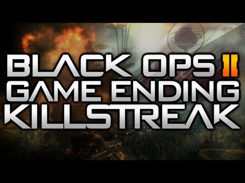BLACK OPS 2 GAME ENDING KILLSTREAK!!!