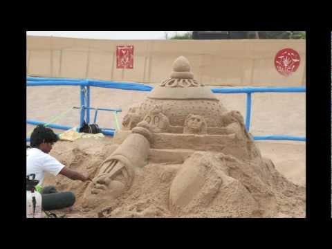 International Sand Art Festival, India