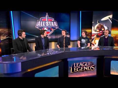 Cloud 9 vs Taipei Assasins post-match Analyst desk with Krepo and Monte | All-star 2014 Paris