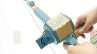 Nintendo Labo Variety Kit「つりToy-Con」のリールを回してみたところ