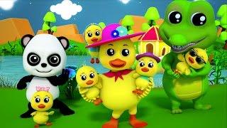 Baby Boa panda | Năm con vịt nhỏ | Nhạc trẻ em | 3D Rhymes for Babies & Kids | Five Little Ducks