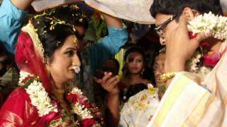 Mala Badal - Part of Typical Bengali Wedding Video