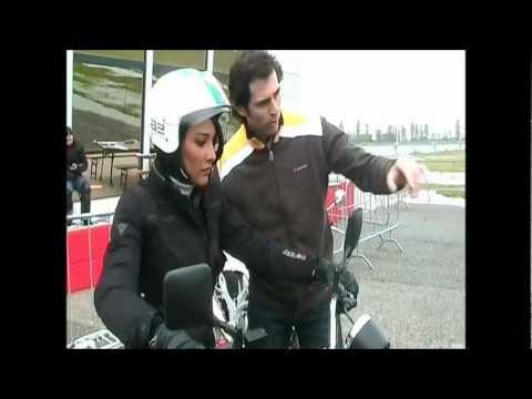 Corso Moto 17-18-19 Aprile 2010 con Juliana Moreira