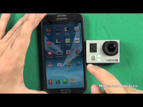 GoPro Hero 3 Wifi Test Range Con App per smartphone