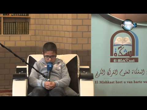 Korancompetitie Benelux te Vilvoorde op 4 mei 2014 categorie 20 hizb