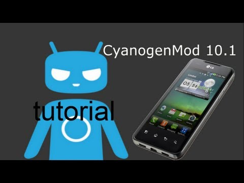 How to get cyanogenmod 10.1 on your LG Optimus 2X when on official 4.0.4 update