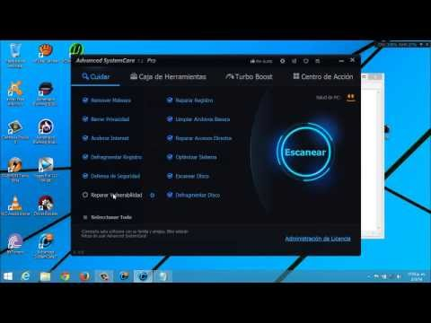 Descargar e Instalar Advanced SystemCare PRO 7.2 | Incluye 5 Licencias