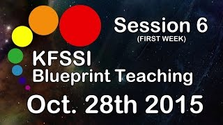 KFSSI Blueprint Teaching HD #Session 6