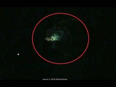 Stworzenie przypominające mitycznego Krakena wypatrzone dzięki usłudze Google Earth