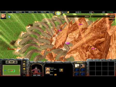 Warcraft III: TFT - Naruto Battle Royal v8.9 - 55 - Deidara a Hashirama