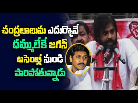 Janasena Chief Pawan Kalyan Sensational comments on YS Jagan | Public Meeting at Bhimavaram