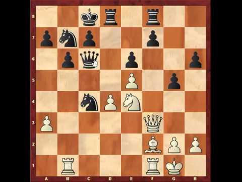 Chess: Susan Polgar 2400 - Walter S Browne 2510, Nimzo - Indian http://sunday.b1u.org