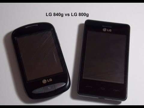 LG 840g vs LG 800g Part 1