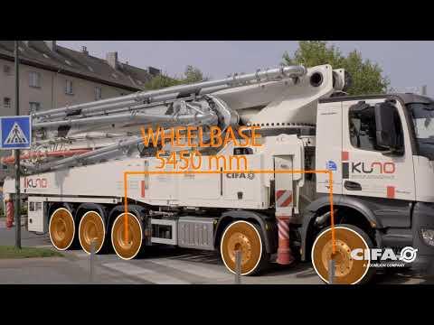 Video Mobilní čerpadlo betonu K60H