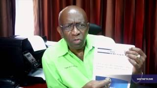 Jack Warner FIFA Scamming Nigger Half-Wit Reads For Deatil In Satirical 'The Onion'